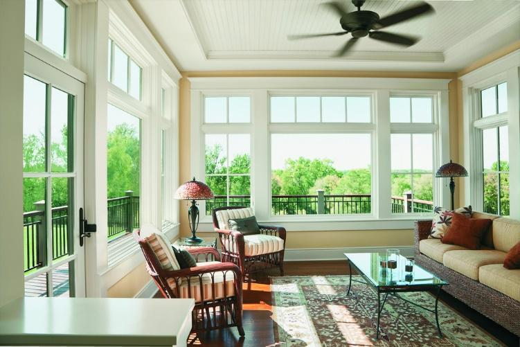 top sunroom window options
