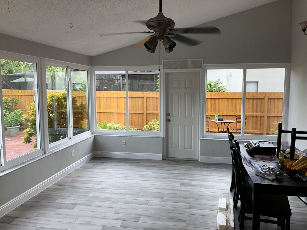 Tips to New Beautiful Sunroom Replacement Windows Installation in Clearwater