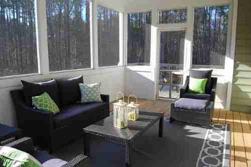 Modern Sunroom Additions-living room