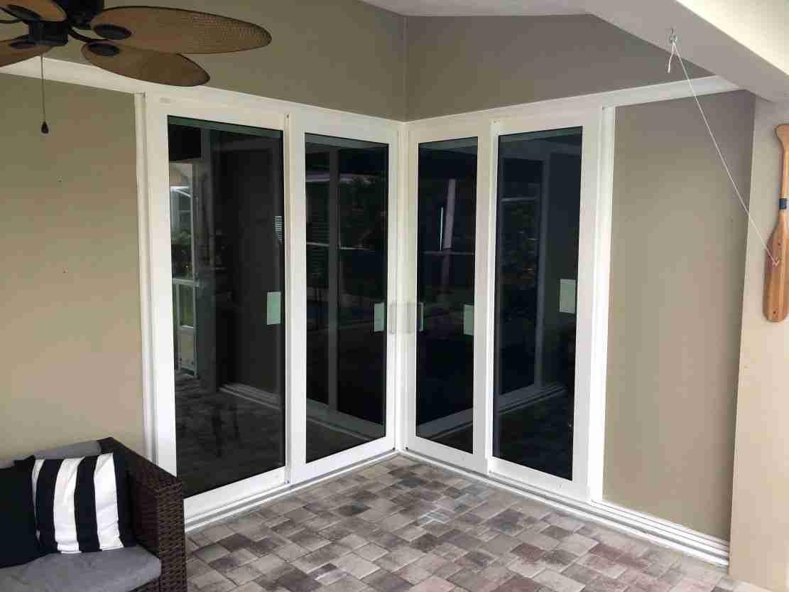 Sliding glass doors replacement
