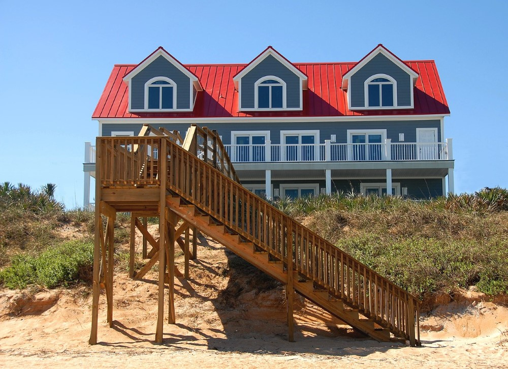 beach house rated hurricane impact windows