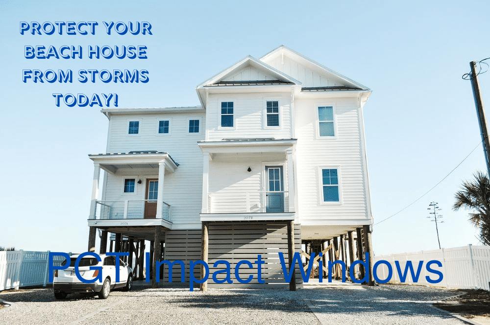 Buy PGT Impact Windows Beach House